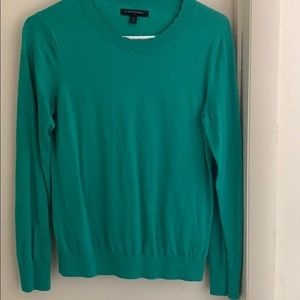 Green Banana Republic sweater